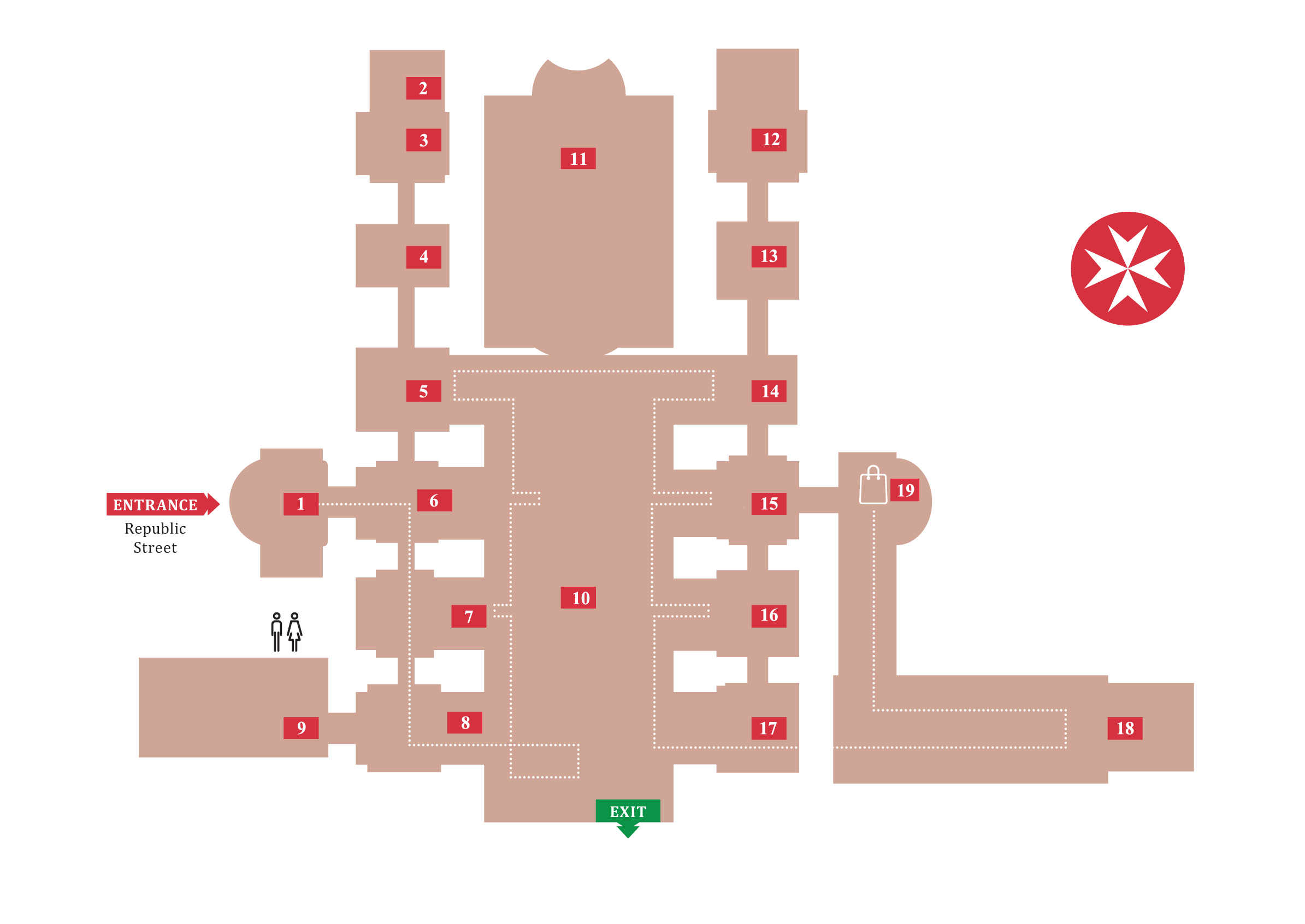 web map floor plan